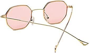 Europe and America Sunglasses Fashion Pink Octagonal Sunglasses