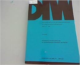 Book Forschung und Entwicklung im verarbeitenden Gewerbe von Berlin (Beiträge zur Strukturforschung) (German Edition)