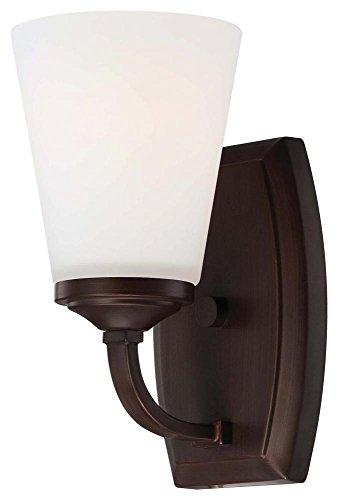 Minka Lavery 6961-284 Overland Park 1 Light Bath Lighting, Vintage Bronze