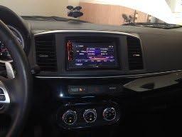 2007-2017 Aftermarket Radio Double Din Dash Installation Install Kit Wire Harness Compatible with Mitsubishi Lancer Lancer Evolution