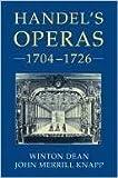 Handel's Operas 1704-1726