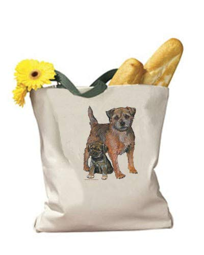 (Animal Pet Gifts, Border Terrier Tote Bag)