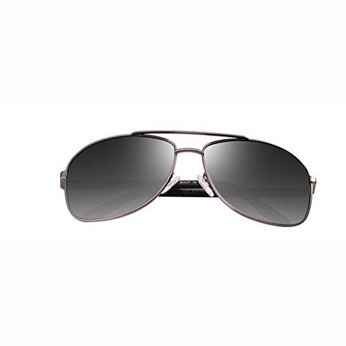 Gafas sol excursionistas Star hombre colores sol de de nuevas sol de Gafas Gafas Gafas 5 de para sol UV400 UV sol con Opcional Gafas Dark Green de visera Frame Gold Protección Regalo polarizadas para Depor Conducción retro D tTxgqR