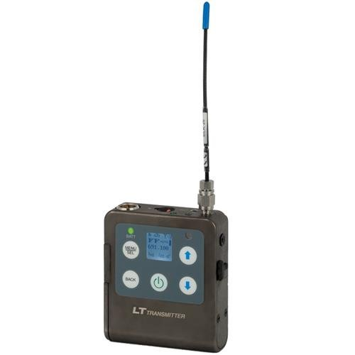 Lectrosonics Belt Pack Transmitter with Instrumental Input, 537.600 - 614.375 Operational Frequencies, 50 or 100mW RF Power, 90Hz to 20kHz Frequency Response