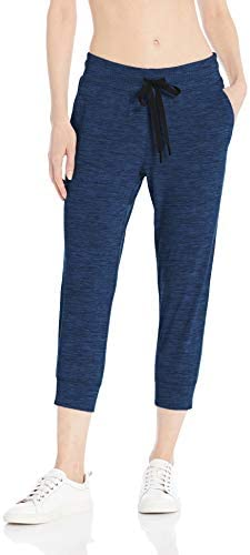 Amazon Essentials Women's Brushed Tech Stretch Crop Jogger Pant