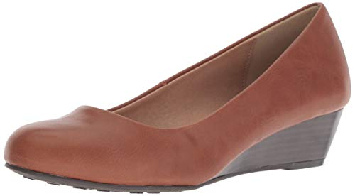 CL by Chinese Laundry Women's Marcie Wedge Pump, Cognac Smooth, 9 M US