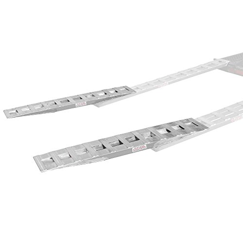 "Discount Ramps 60"" Heavy Duty Lay-Over Aluminum Trailer Ramp Extensions"