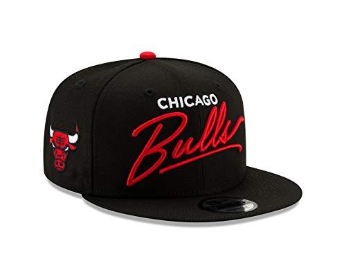 buy popular bb673 1ec3b New Era Chicago Bulls Script Turn Snapback 9FIFTY Adjustable NBA Hat