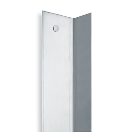 Rockwood 30432D42 Door Edge Guard, Stainless Steel, Number of Sides 2, 42'' Height, 1-3/4'' Width by Rockwood