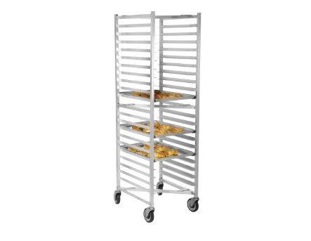 Gusto BPR-Z-FULL 20 Pan Aluminum Nesting Bun Pan Rack by Gusto