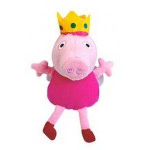 Peluche Peppa Pig princesa 30 cm