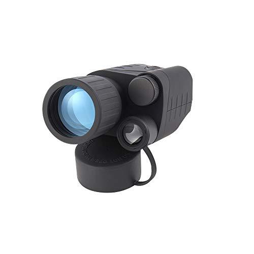 Juweishangmao Monocular Infrared Night Vision Goggles Telescope with Free Helmet Mount Kit, 300M Professional Full Dark, 3X Lens Magnification