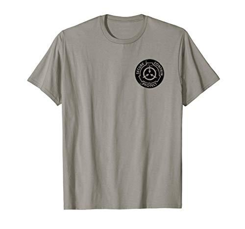 - SCP Foundation Logo Tshirt