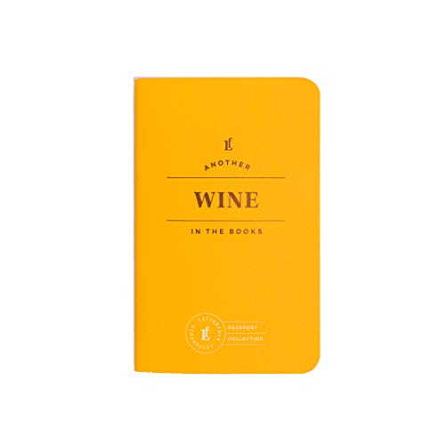 Wine Passport Journal - Pocket-Sized Wine Tasting Book by Letterfolk