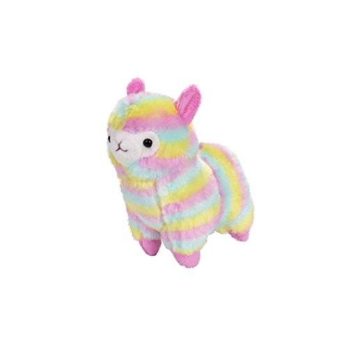 Staron Plush Toy, Rainbow Alpaca Doll Colorful Alpaca Llama Soft Baby Stuffed Animal Plush Puppet Doll Toys Gift for Birthday/Christmas/Valentine's Day/Wedding Anniversary, 13cm (Alpaca❤️) Dog Valentine Box
