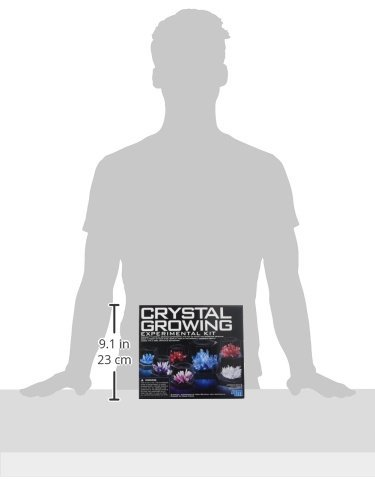 Johnco Productions Great Gizmos 4M Crystal Growing Experiment Kit