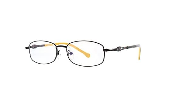 6d97d6ff656cd Amazon.com  EyeBuyExpress Bifocal Kids Childrens Reading Glasses Black  Rectangular Full Rim  Health   Personal Care