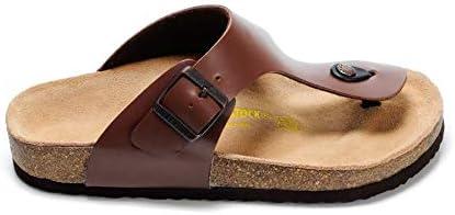 Birkenstock Gizeh Sandals For Men, Brown, 44 EU: Buy Online