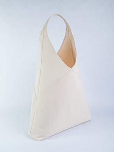 Canvas amp; Canvas owned operated Made USA Family Handbag Minimalist 100 Hobo Tote Bag Classic in Canvas Cotton wOd8qX7