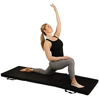 Amazon Com Spri Exercise Mat For Fitness Yoga Pilates