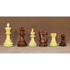 Checkmate Sheesham Classic Chess Pieces by Checkmate