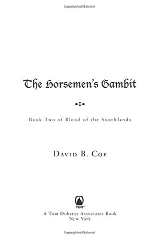 book cover of The Horsemen\'s Gambit