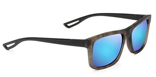 Maui Jim Unisex Chee Hoo Stormy Grey/Blue Hawaii One - Sunglasses B Logo