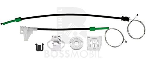 front left Bossmobil Modus window lifter repair kit 2//3 doors or 4//5 doors F//JP0/_