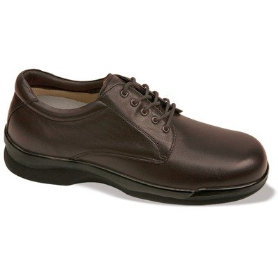 Aetrex Men's Ambulator Conform Oxford Orthotic Shoes,Brown Smooth Leather,9 (Aetrex Mens Dress)