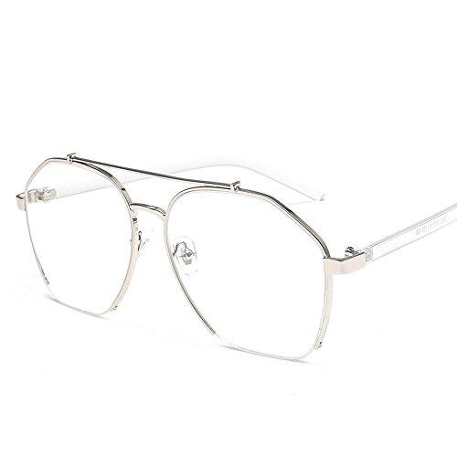 Aoligei Dame de tendance rond polarisé lunettes de soleil grand cadre ANTI-UV lunettes étoiles lunettes de soleil 2A682