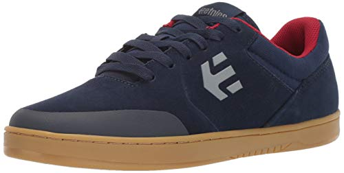 Etnies Men's Marana Skate Shoe Navy/RED/Gum 8.5 Medium US