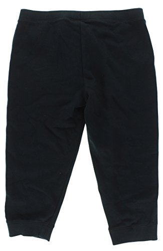 Under Armour Kids Girls' Favorite Fleece Capris (Big Kids), Black XL (18-20 X One Size by Under Armour (Image #3)