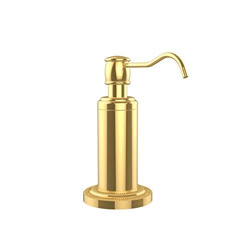 Freestanding Soap (Allied Brass DT-61-PB Free Standing Soap Dispenser, Polished Brass)
