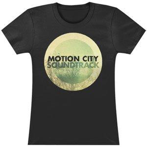 Motion City Soundtrack Go Album Logo Girls Jr Medium - Soundtrack City Apparel Motion