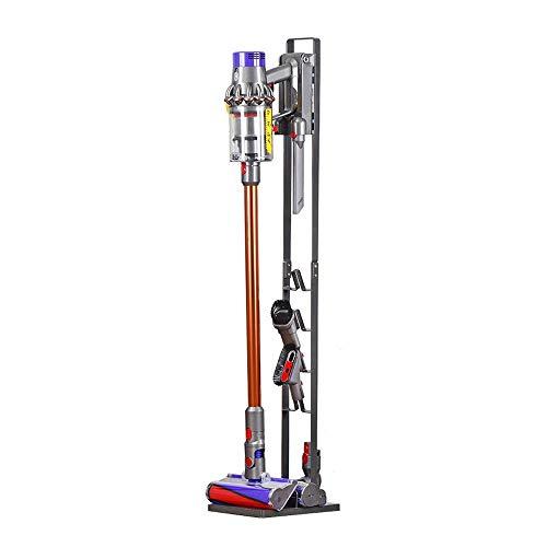 BRIGHTSHOW Stable Metal Storage Bracket Stand Holder for Dyson Handheld V6 V7 V8 V10 V11 DC30 DC31 DC34 DC35 DC58 DC59 DC62 DC74 Cordless Vacuum Cleaners (Grey)