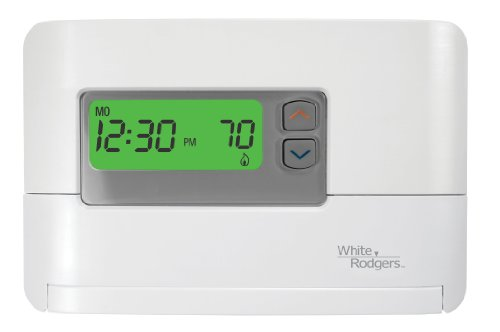 White-Rodgers P200 5-1-1 Day Programmable Thermostat for Single-Stage Systems - White Rodgers Programmable Thermostat