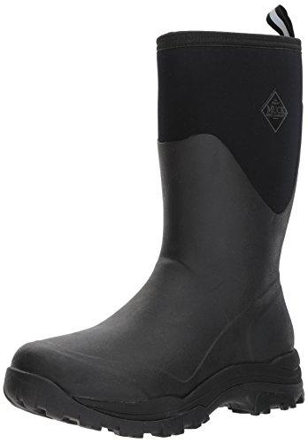 Muck Boot Mens Arctic Outpost Mid (13) Work Boot Black/Gray dpnOtr