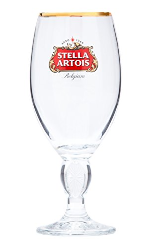 Boelter Brands 453532 Stella Artois Chalice Glass, 33 cl, Clear