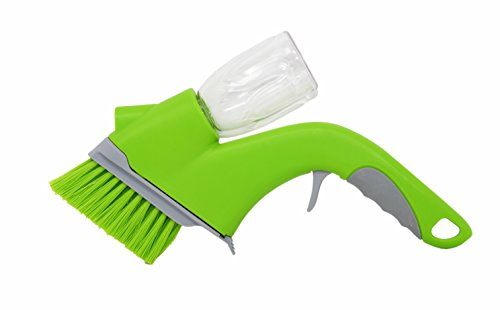 Tools Overhaul (Home-X - Track Cleaning Brush with Built-In Bottle Sprayer, Easy-To-Use Multipurpose Brush Removes Dirt, Dust and Grime from Door and Window Tracks)