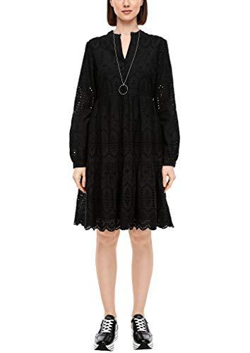 s.Oliver RED Label Damen Kleid aus Baumwollspitze