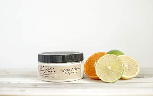 Cypress & Citrus Body Butter - All Natural Handmade - Deep Moisturizer - 8 oz