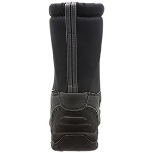 KEEN Men's Winterport II-m Hiking Boot, Black/Frost Gray, 11.5 M US