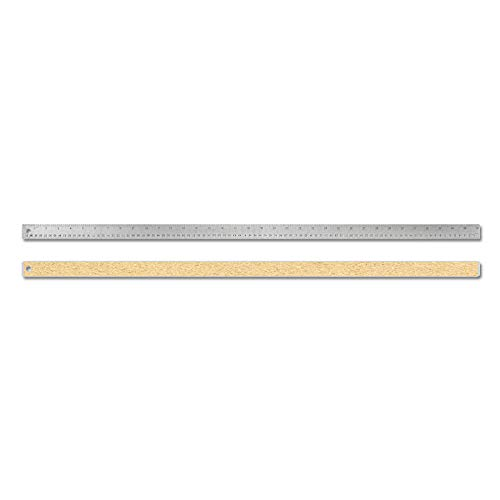 Alumicolor 8036 Stainless Steel Ruler, 36IN