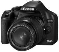 Canon EOS 500D - Cámara Réflex Digital 15.1 MP (Objetivo EF-S 18-55 IS, kit)