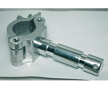 Rohr Schelle Mit Tv Zapfen Fur 50mm Rohr Alu Traversen Aluminium