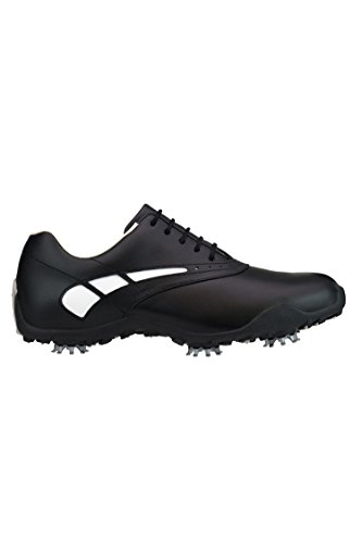 FootJoy c/o Womens 97007 LoPro Black/White Waterproof Leather Golf Shoes by FootJoy (Image #1)