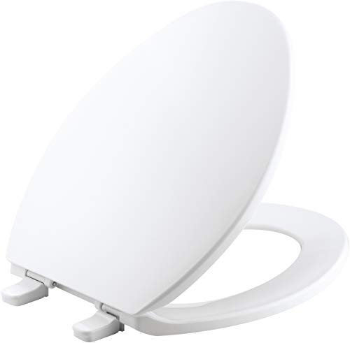 Kohler K 4774 0 Brevia Elongated White Toilet Seatwith
