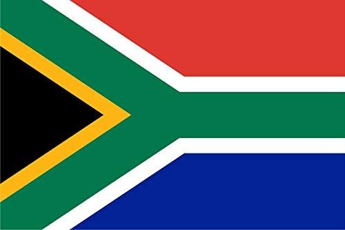 OLS Studios Magnet South Africa Flag Decal African Vinyl Car Truck Bumper Window Sticker VAR Magnetic Vinyl Sticks to Any Metal Fridge, car, Signs