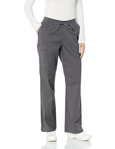 (Amazon Essentials Women's Quick-Dry Stretch Scrub Pant, Pewter, XX-Large)