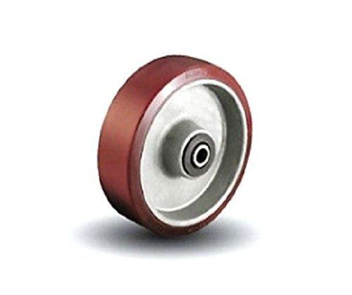 Colson Polyurethane on Aluminum Core 8'' Wheel with 1/2'' or 3/4''ID Roller Bearing